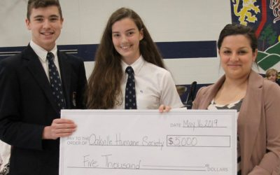 ROTHERGLEN STUDENTS DONATE $5,000 to OMHS