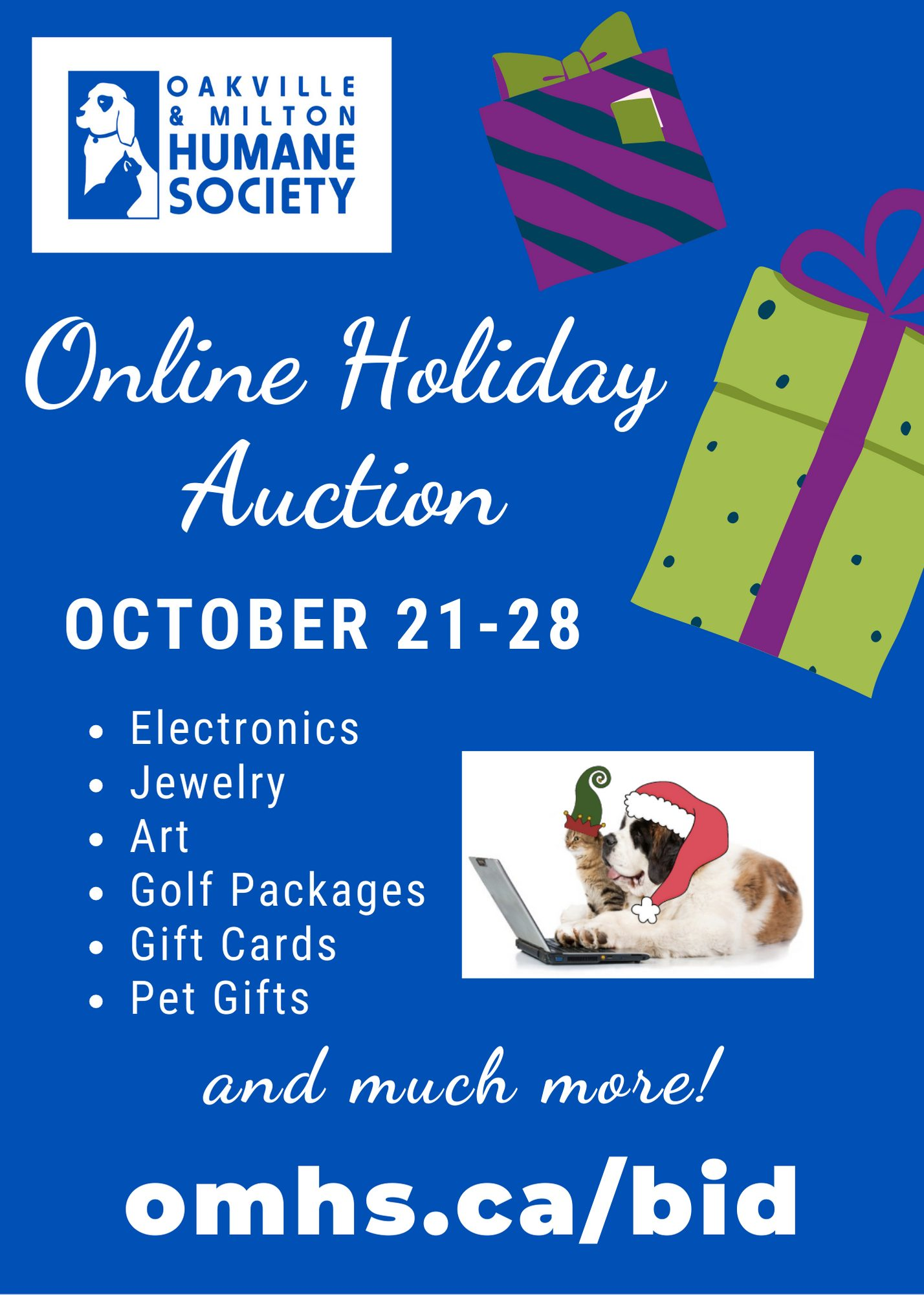 Auction Promo image - Online Holiday Auction - Coming Soon!